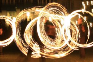 Hochzeitsfeier 3 Feuershow