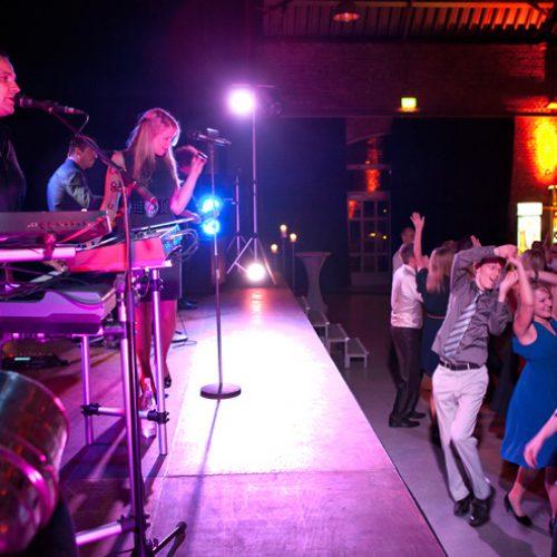 Musiker Liveband Tanzfläche